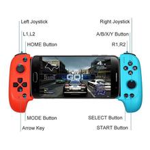 New Arrival Wireless Bluetooth Game Controller Telescopic Gamepad Joystick for Samsung Xiaomi Huawei Android Phone PC handjoy x max wireless bluetooth 4 0 singe hand game controller with telescopic for android ios smartphone phone controller