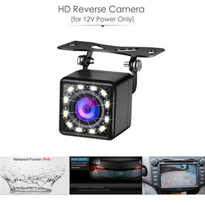Image 5 - HD 5 Inch 800*480 TFT LCD Foldable Car Monitor Reverse Parking And 12 LED Rear View Camera