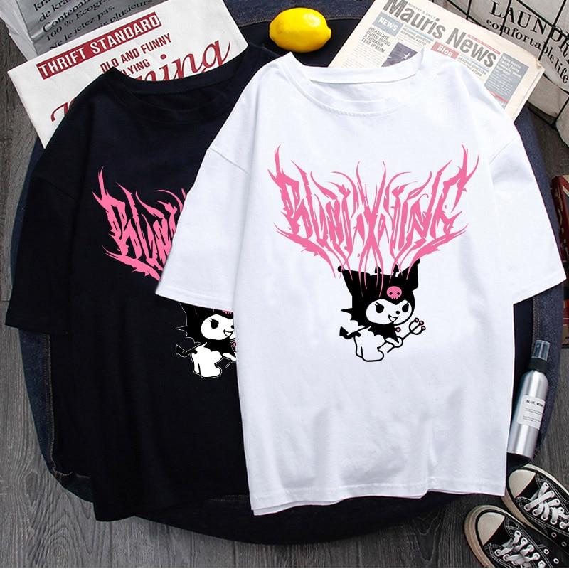 Y2k T-Shirt Street-Rock Hip-Hop Gothic Bratz Rap