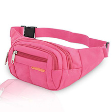 Waist Bag  Polyester Multiple Functions Sports Packs Fanny for Outdoor Hiking Cycling Running Secret Stash