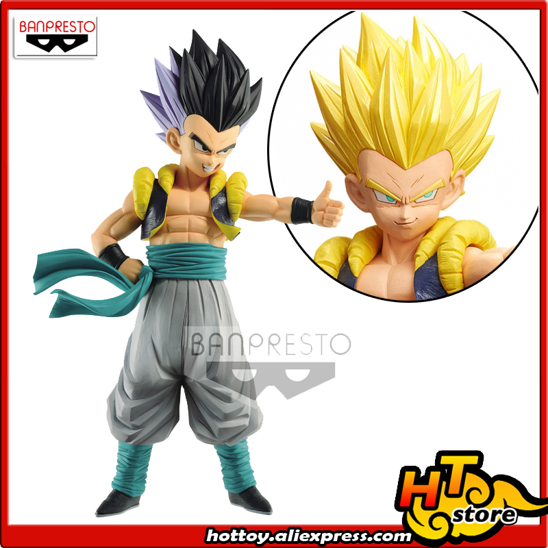 100% Original Banpresto Resolution Of Soldiers Grandista Vol.9 Collection Figure - GOTENKS From