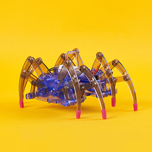Серия продуктов высокого обучения робот-паук синие блоки Шестерня Souptoys Набор строительных блоков пластиковые игрушки вместе детский подарок