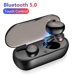 2020 New stye Y30 TWS Bluetooth 5.0 Wireless In-ear Noise Reduction Stereo Earphones Earbuds