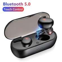 2020 новый стиль y30 tws bluetooth 50 беспроводные наушники