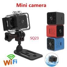 2019 新オリジナルミニカムwifiカメラSQ23 フルhd 1080pナイトビジョン防水シェルcmosセンサーレコーダーcamcorde