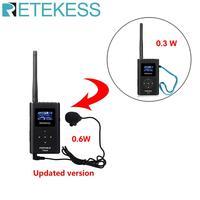 Retekess TR504 0.6W FM Wireless Transmitter MP3 Broadcast Radio Transmitter for Car Meeting Tour Guide System