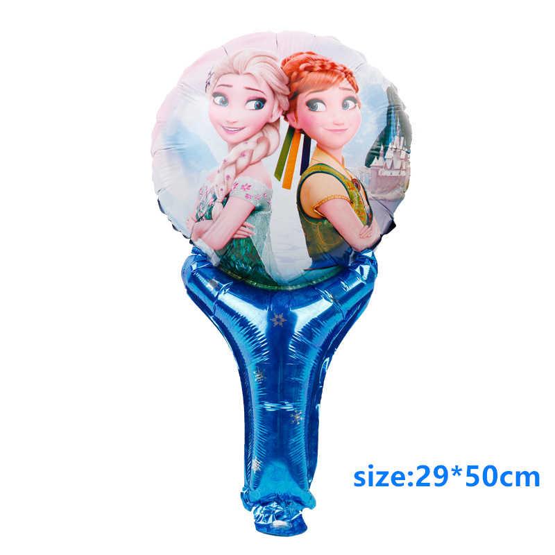 ディズニー冷凍デザイン女の子誕生日パーティーの装飾ギフトバッグ紙コッププレートスプーンベビーシャワー使い捨て食器用品