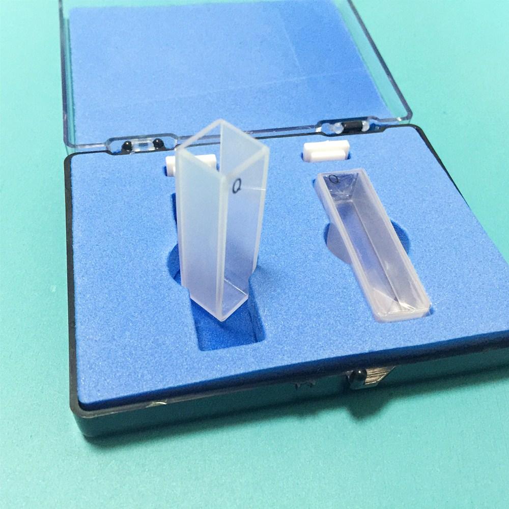 Quartz Cuvette Light Path 10 Mm Spectrometer Cell Two-sides Tranparent Resistant Acid & Alkali 2 Pcs/pk