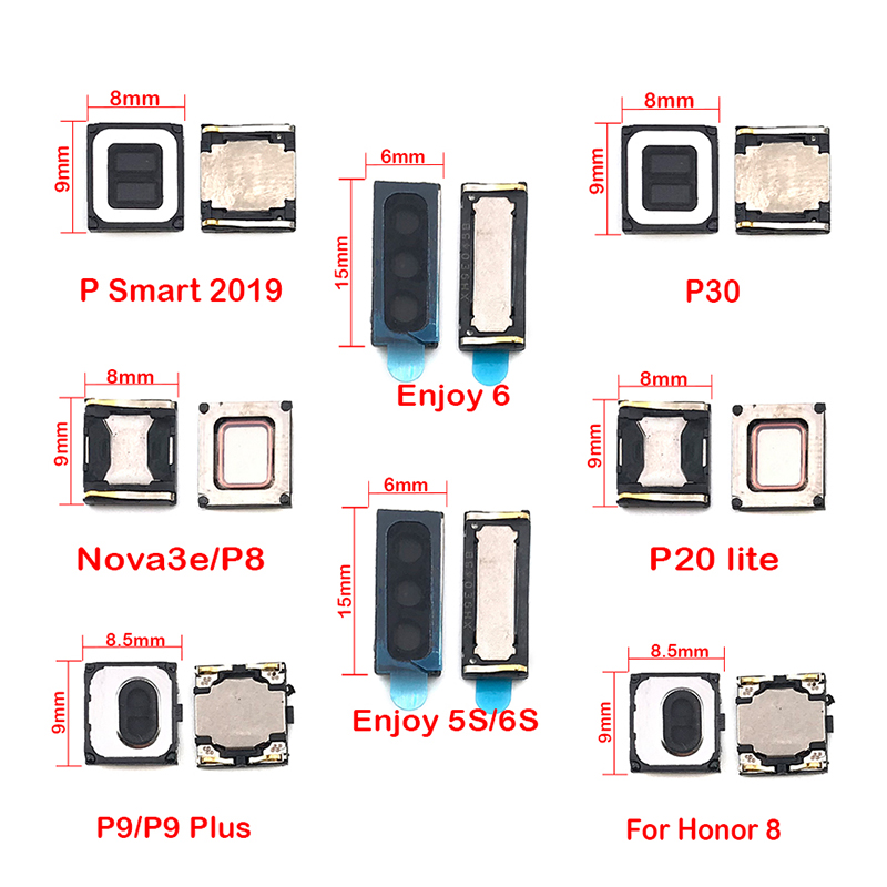 Earpiece Ear Speaker Sound Receiver For Huawei Honor 6C 6X 9X 5A 6A 8 7 Nova 3e 3 3i 4 Nova2 Plus P8 P20 P30 P Smart 2019
