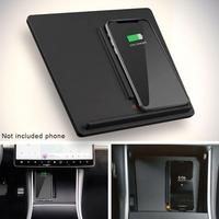Wireless Phone Charger Dual Phones Charging Anti skid Car Mount Auto For Tesla Model 3 For All Qi Upgraded Auto Center Console