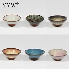 New Chinese Ceramic Kung Fu Tea Cup Porcelain Bowl Pottery Boutique Master 100ml Teaware Sets Drinkware Accessories