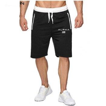 цена на New Brand Fashion Men Summer Men's Bodybuilding Shorts Fitness Workout Cotton Male Fashion Casual Short Pants Brand Clothing