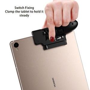 Image 4 - Controller PUBG ipad a sei dita Pubg Mobile Trigger Gamepad Grip L1R1 pulsante di mira a fuoco Joystick per Tablet ipad maniglia di gioco FPS