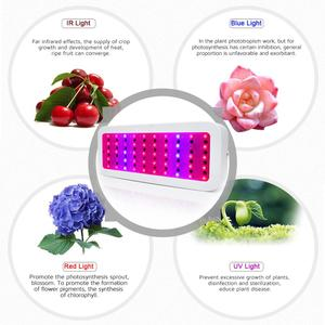 Image 5 - 600W/300W LED Grow Light Full Spectrum Red+Blue+White+UV+IR AC85~265V Led Plant Lamp for Aquarium Grow Room horticulture
