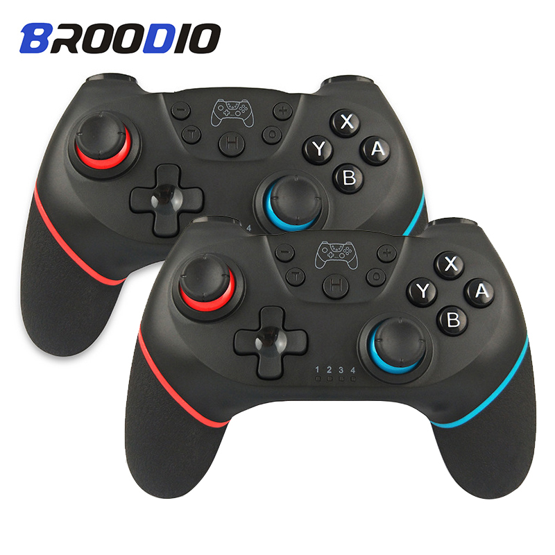 2020 Upgraded Version  Bluetooth Wireless Controller For Nintendo Switch Pro Gamepad For Nintendo Switch Console Game Joystick