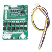 4S 50A Li-ion Battery 18650 Charger Protection Board BMS PCB with Balance for 14.8V LiFePo4 Lithium Iron Battery deligreen 4s 35a 12v bms for lithium ion battery pack lifepo4 18650 rechargeable battery with balance function