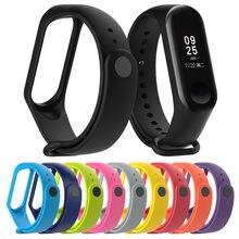 Pulseira de banda inteligente para xiaomi mi banda 3 4 pulseira de silicone miband 4 pulseira de pulso miband 3 pulseira de pulso para xiaomi mi banda 4