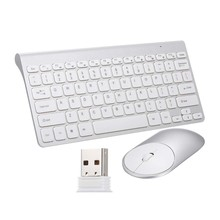 2.4G Optical Wireless Keyboard Mouse Mice Usb Receiver Kit For Pc Laptop Portable Office Suit(China)