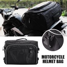 New 1pcs Motorcycle Helmet Bag Large Capacity Storage Bags 1680D Oxford Cloth Travel Tail
