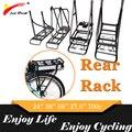 20 дюймов 24 дюйма 26 дюймов 700C 28 дюймов задняя стойка велосипеда Бесплатная доставка переноска для аккумулятора багажная стойка для MTB взросл...