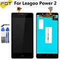 5.0 ''שחור עבור Leagoo כוח 2 LCD תצוגה + מסך מגע Digitizer עצרת תיקון חלקים + כלים + דבק