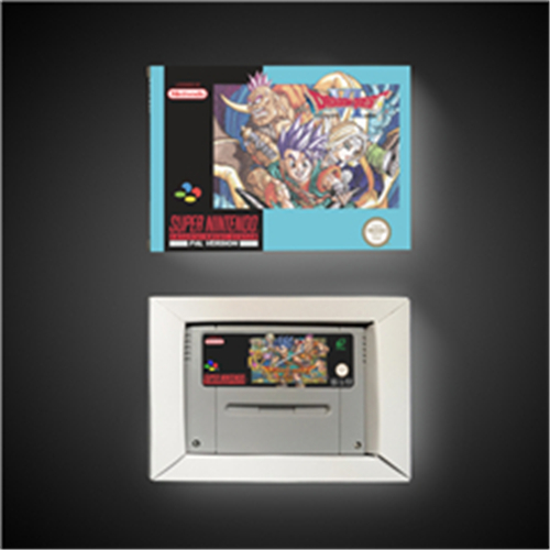 Dragon Quest VI - EUR Version RPG Game Card Battery Save With Retail Box image