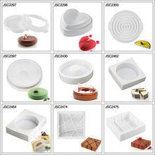 Ferramentas de bolo de silicone molde para bolo ferramenta de decoração mousse sobremesa molde de silicone molde de cozimento ferramenta de decoração do bolo 3d cozimento pan