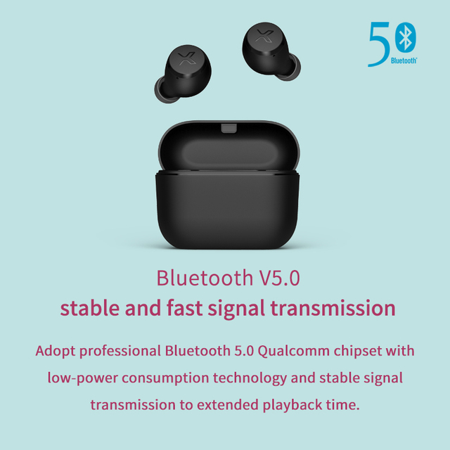 EDIFIER X3 TWS Wireless Bluetooth Earphone bluetooth 5.0 voice assistant touch control voice assistant up to 24hrs playback 1