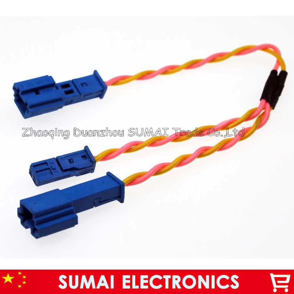 AERZETIX kabel C4333-2 x Lautsprecheradapter f/ür auto