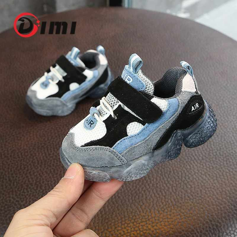 DIMI 2020 Spring New Kids Baby Shoes