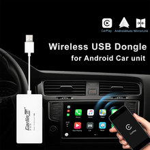 2019 New Wireless USB  Auto Smart Link CarPlay Dongle For Android Navigation Player Mini Carplay Car