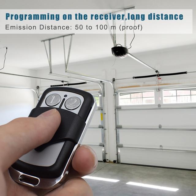 SMG-020A Garage remote control for CLEMSA MUTANcode ERREKA PUJOL BENINCA SOMFY CARDIN S449 DITEC 433.92MHz 868MHz Rolling code