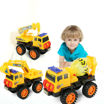 Baby Classic Simulation Engineering Car Toy Excavator Model Tractor Dump Truck Modelchildrens Beach Outdoor Digging