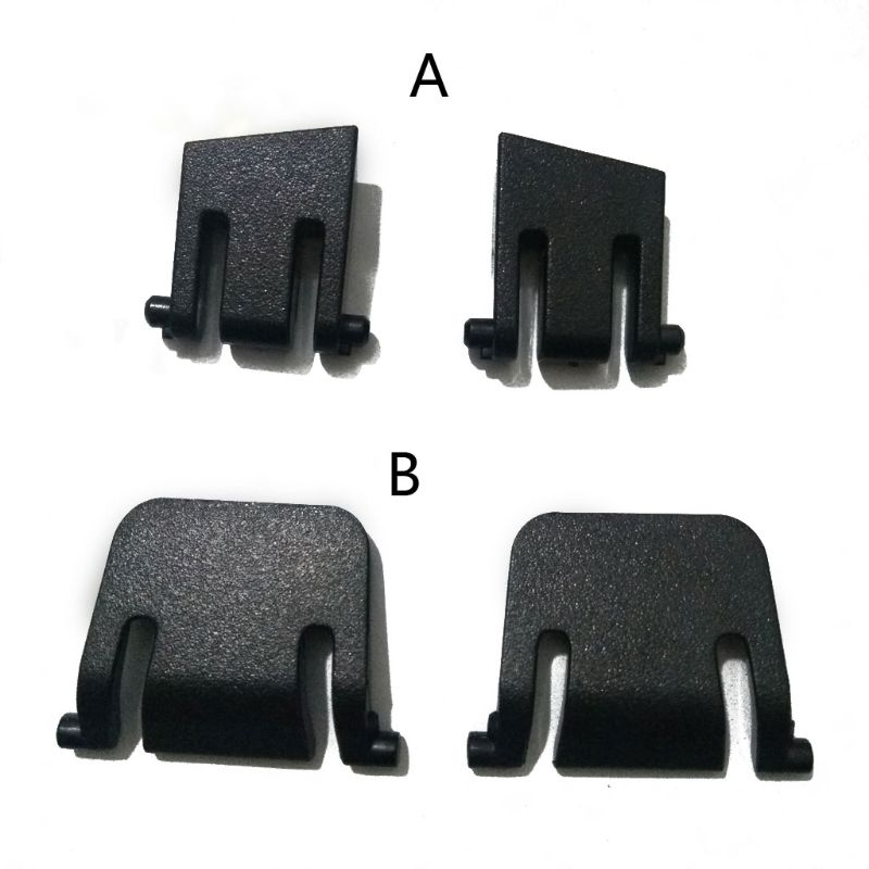 2Pcs Keyboard Bracket Leg Plastic Stand For Corsair K65 K70 K63 K95/ K70 LUX RGB