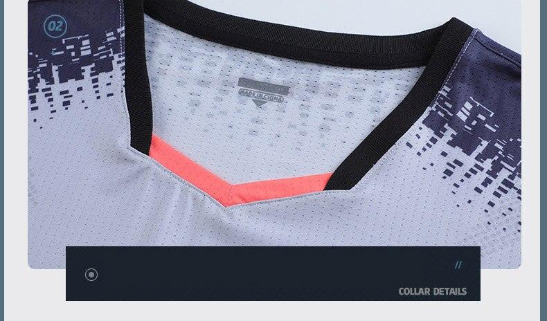 & shorts masculino e feminino badminton ternos
