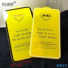 Защитное стекло 9d для iphone 6 6s 7 8 plus x xs 11 pro max