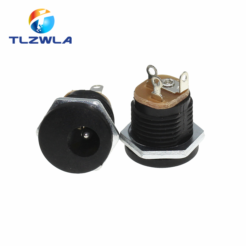 1pce DC Power 4.8x1.7mm Male with plastic Handle black head RF Connector