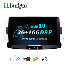 Android 9,0 DSP IPS GPS Radio für Dacia Sandero Duster Renault DOKKER Captur Lada Xray2 Logan 2 Navigation Stereo keine DVD Player