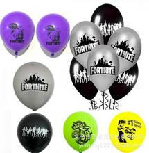 6 шт/компл fortnite латексных воздушных шаров с Набор игровой