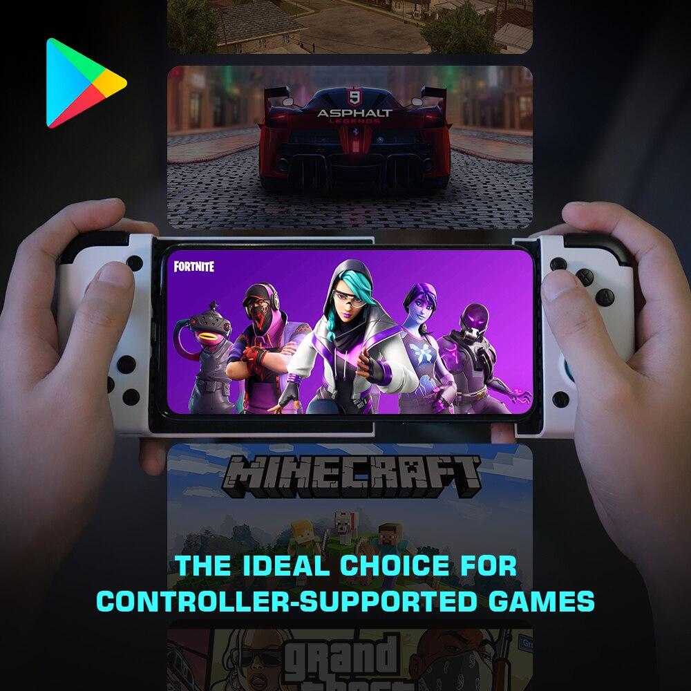 Gamesir x2 type-c gamepad mobile game controller/ joystick android gamepad telescopic handle no delay (white)