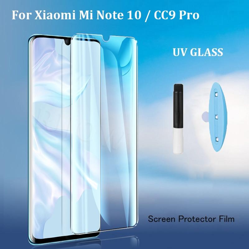Новейшее УФ закаленное стекло для Xiaomi Mi Note 10 lite Pro жидкий клей защита для экрана Xiomi Mi CC9 Pro Note10 пленка Global CC9 Pro|Защитные стёкла и плёнки|   | АлиЭкспресс