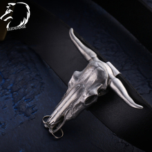 2020 Bull Head Skull Totem Steel Knife Safety Outdoor Survial Kit EDC Tool Self