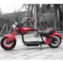 Ретро винтажный Стиль Электромобиль Электрический велосипед для взрослых мотоцикл скутер большой 2 колеса 60 в 12A/20A литиевая батарея