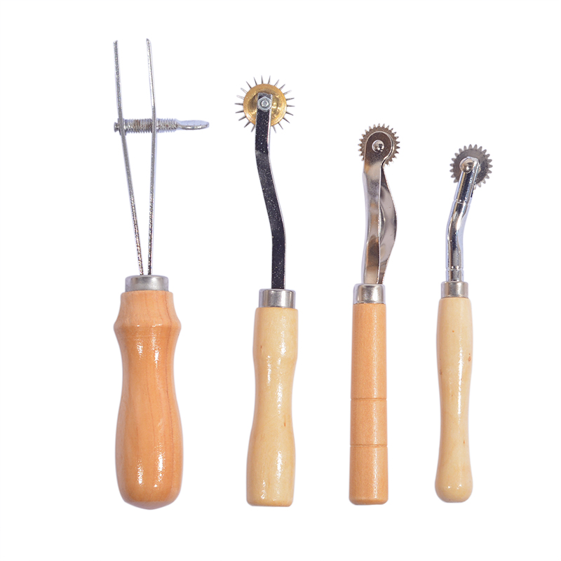 37Pcs Set Leather Craft Tools Kit Hand Sewing Stitching Punch Carving Work Saddle DIY Leathercraft Accessories