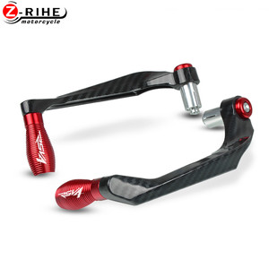 Image 2 - Motorcycle Accessories Brake Clutch Lever Hand Guard Handle Falling Protection For Aprilia RSV4 RR 1100 2018 2019 2010 2020 ON