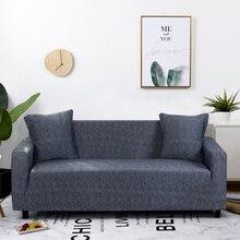 Streç kanepe kılıfı Slipcovers elastik her şey dahil kanepe için farklı şekil kanepe Loveseat sandalye L tarzı kanepe kılıfı 1 adet