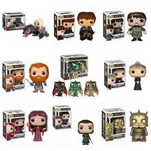 FUNKO POP – figurines Game of Thrones, JON SNOW, daenys, GREY WIND, RENLY, ygrette, ROBB, STARK, Collection de jouets, modèle, cadeau