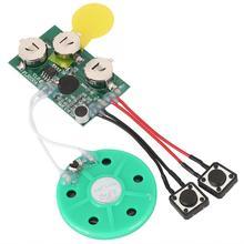 Radio numérique récepteur Radio bricolage carte de voeux puce 120 secondes enregistrable voix son puce Module Portable Radio chaude