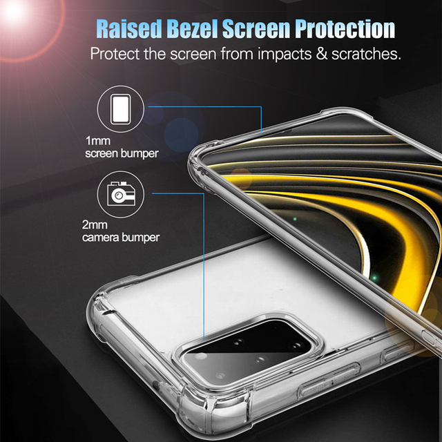 Shockproof Case For Samsung Galaxy A51 A71 A50 A70 A52 A72 A32 A12 A10 S9 S8 S10 S20 fe S21 Note 20 Ultra 8 9 10 Plus Back Cover 6
