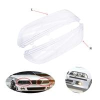 1 Pcs/Pair Headlight Cover Shell Headlight Glass Lens Headlamp Light Cover Lens Kit Fit for Bmw 5 Series E39 518 520 523 528 530